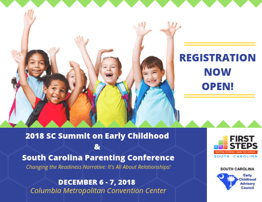 2018 Summit On Early Childhood Sc First Steps