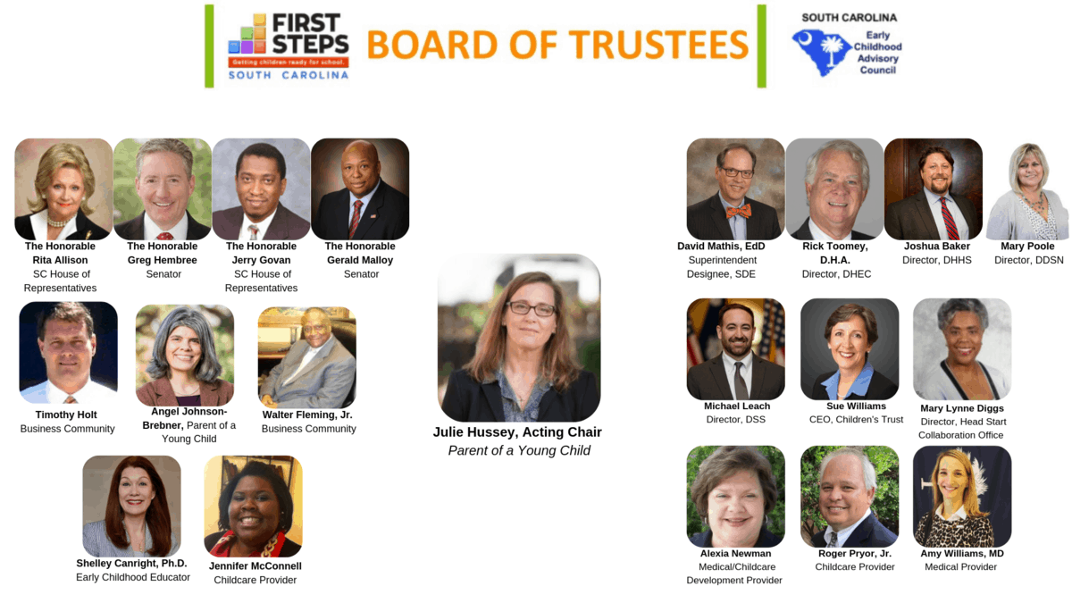SC First Steps Board of Trustees_ECAC (1)